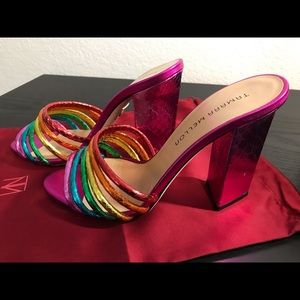 Tamara Mellon 2017 Pride 105 Slide Sandals